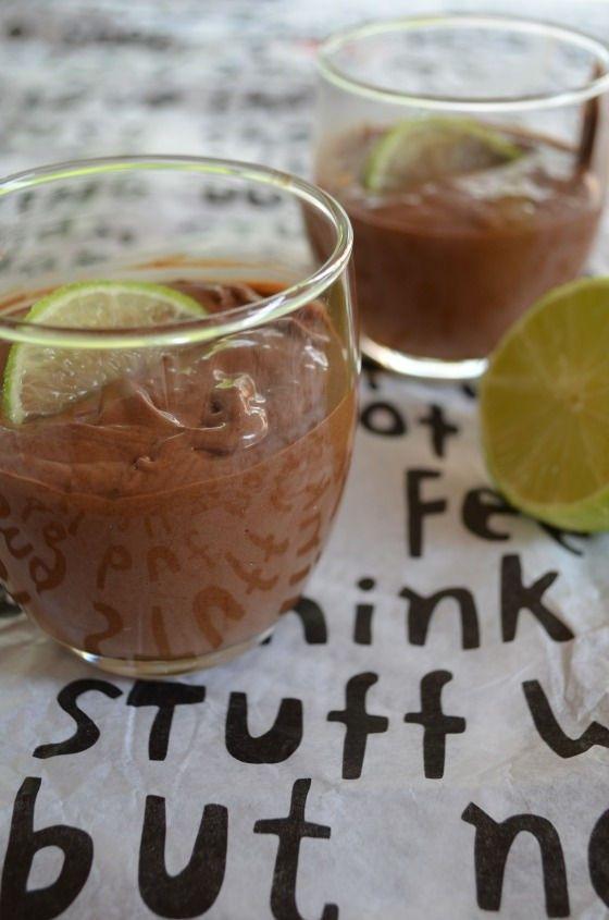 Chocolate lime mousse recipe cool artisan food blog Γαβριήλ Νικολαΐδης