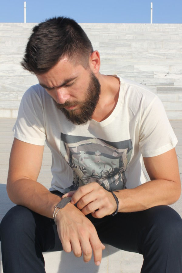 giveaway teosophy t-shirt man blogger fashion street style