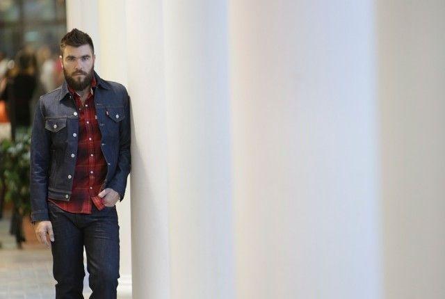 street style men fashion blogger denim cool artisan mcartur glen Γαβριήλ Νικολαΐδης