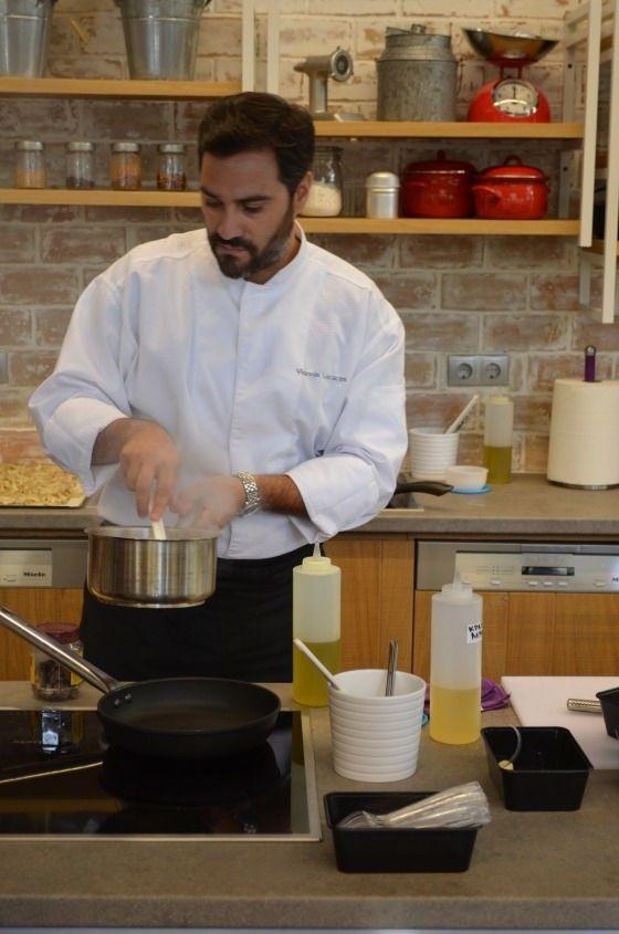 Mushroom risotto with Parmesan and truffle oil recipe Γιάννης Λουκάκος Γαβριήλ Νικολαίδης