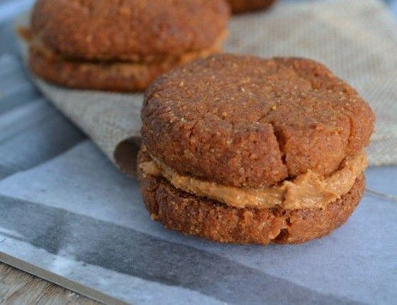 Three ingredient vegan peanut butter whoopies