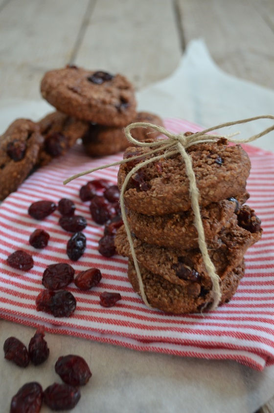 Tahini with cocoa CRANBERRIES HONEY cookies (only 4 ingredients) COOL ARTISAN ΓΑΒΡΙΗΛ ΝΙΚΟΛΑΙΔΗΣ