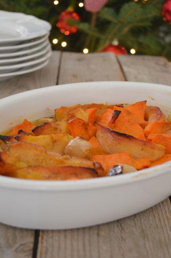 Roasted Quince and Sweet Potatoes Recipe cool artisan γαβριηλ νικολαιδης
