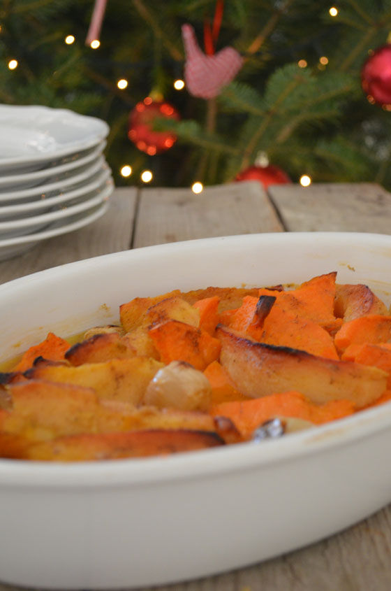 Roasted Quince and Sweet Potatoes Recipe cool artisan γαβριηλ νικολαιδης
