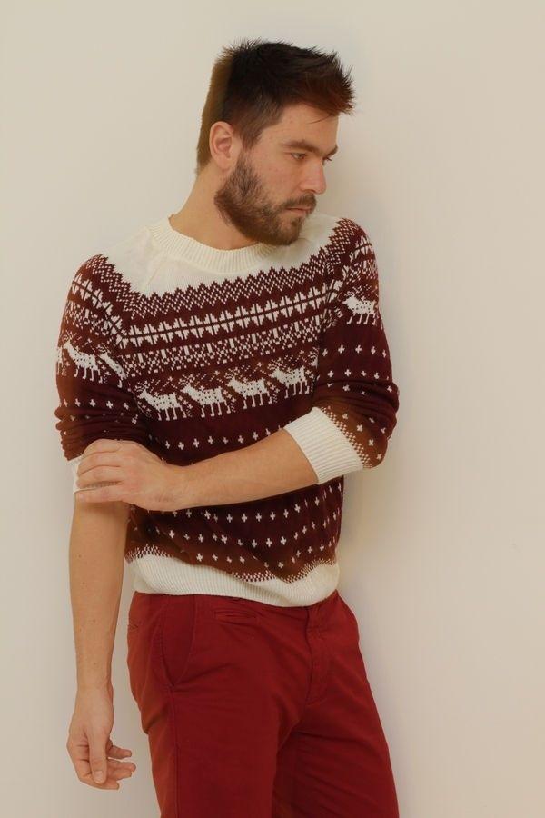 Christmas sweater topman asos H&M Pull & Bear cool artisan Γαβριηλ Νικολαΐδης