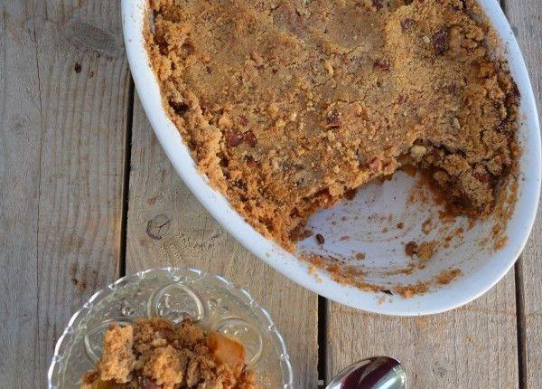 Apple crumble best recipe food blog cool artisan Γαβριήλ Νικολαίδης