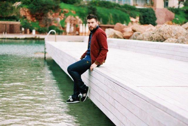 Γαβριηλ Νικολαιδης street style man fashion blogger cool artisan