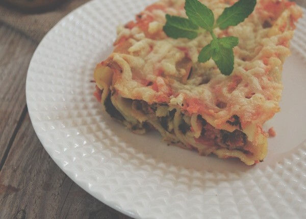 Spinach & Feta Cheese Cannelloni With Homemade Tomato Sauce Recipe cool artisan γαβριηλ νικολαιδης