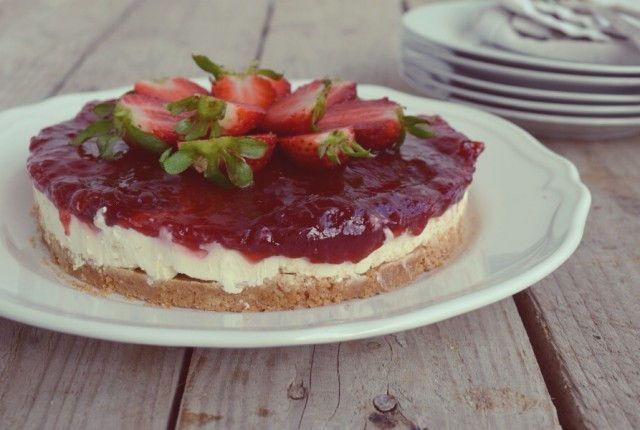 perfect, easy, simple, cheesecake, recipe, strawberry, marmalade, απλή, γρήγορο, εύκολη, συνταγή, τσιζκέικ, cool artisan, Γαβριήλ Νικολαίδης