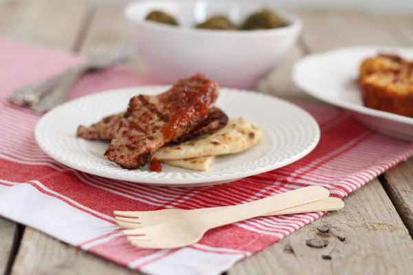 pork chops, ginger chili sauce, συνταγή, recipe, Γαβριήλ Νικολαίδης, χοιρινό