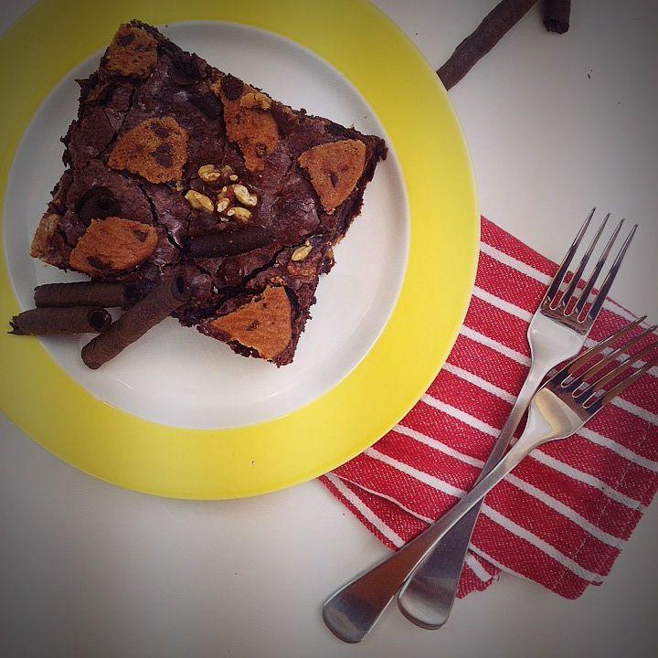 Γαβριήλ Νικολαΐδης, joy it's inside you, mega chanel, mega tv, joy mega, video, video recipe, συνταγή, brownies
