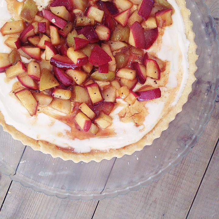 joy it's inside you, mega tv, συνταγή, food blogger, cool artisan, Γαβριήλ Νικολαΐδης, dapper guilt, συνταγή, τάρτα, γλυκιά, βάση ζύμης, κρέμα τυριού καταμελωμένα φρούτα (1)