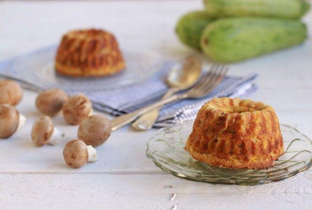 Zucchini and Mushrooms cake recipe, συνταγή, κέικ αλμυρό, κολοκύθι, μανιτάρια, παρμεζάνα