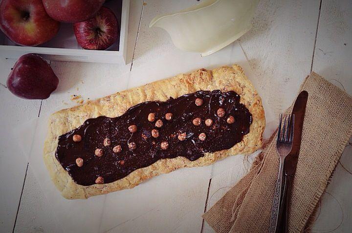 Apple chocolate strudel,recipe, easy, simple,butter, cinnamon,συνταγή, μηλόπιτα στρούντελ, σοκολάτα, συνταγή, Γαβριήλ Νικολαΐδης, food blog, best food blog 2014, food styling