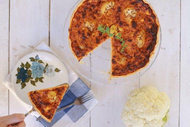 συνταγή, τάρτα, κουνουπίδι, πέστο λιαστής ντομάτας, τυρί, γραβιέρα, παρμεζάνα, ζύμη, μπριζέ, recipe tart, dough, cauliflower, pesto rosso,Γαβριήλ Νικολαΐδης, cool