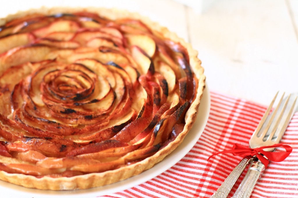 French apple tart, recipe, συνταγή, γαλλική μηλόπιτα, τριαντάφυλλο, συνταγή, Γαβριήλ Νικολαΐδης, food blog, best food blog 2014, food styling, photography