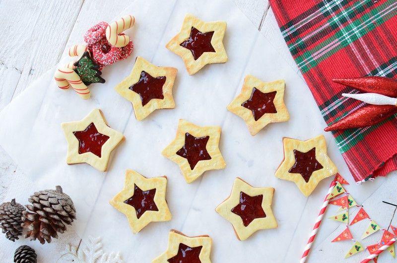 butter cookie recipe , christmas, filled, marmalade, strawberry, συνταγή, μπισκότα, βουτύρου, γεμιστά, μαρμελάδα, αστέρι, αστεράκια, σχήμα, Γαβριήλ Νικολαΐδης, cool artisan