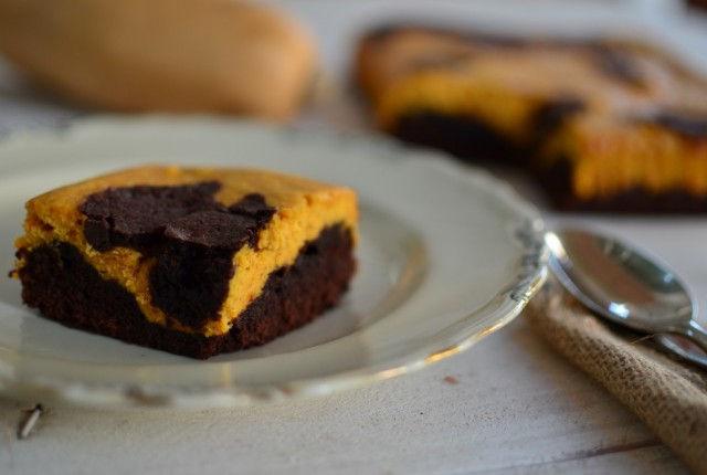 Pumpkin Swirl Brownies Recipe, chocolate, cream cheese, cocoa, συνταγή, μπράουνις, κολοκύθα, σοκολάτα, σοκολατένια, Γαβριήλ Νικολαΐδης, cool artisan