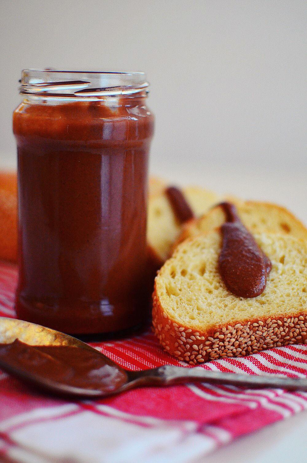 άλειμμα ταχινιού, σοκολάτα, μέλι, βούτυρο, ταχίνι, σησαμέλαιο, tahini, chocolate spread, recipe, honey, buttter, recipe, simple, cool artisan, Γαβριήλ Νικολαΐδης 4