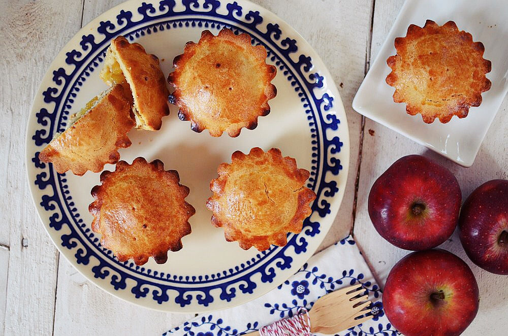 Vegan Mini Apple Pies Recipe, Μηλοπιτάκια Νηστίσιμα, ταρτάκια μήλου,συνταγή, νηστεία, εύκολη, απλή, Γαβριήλ Νικολαΐδης, cool artisan