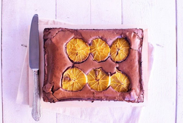 brownies, chocolate, orange, recipe, dessert