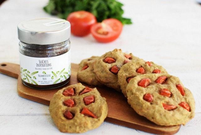 vegan, cookies, olive paste, beer, seacrets inspirations, recipe