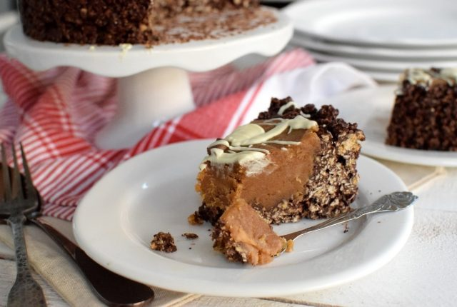 Vegan, No-Bake Peanut Butter Tart with chocolate crust, recipe, blog, cool artisan, awards, food styling, saveur magazine, instagram, gabriel nikolaidis, jenny jenny
