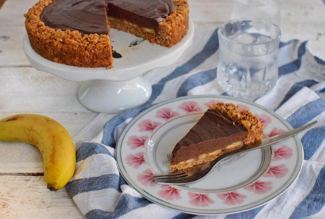 cereal base, banana, tart, caramel, chococlate ganache, recipe, fod blog, food blogger, food styling, blog awards, saveur magazine, inspo, cool artisan, best instagram, gabriel nikolaidis