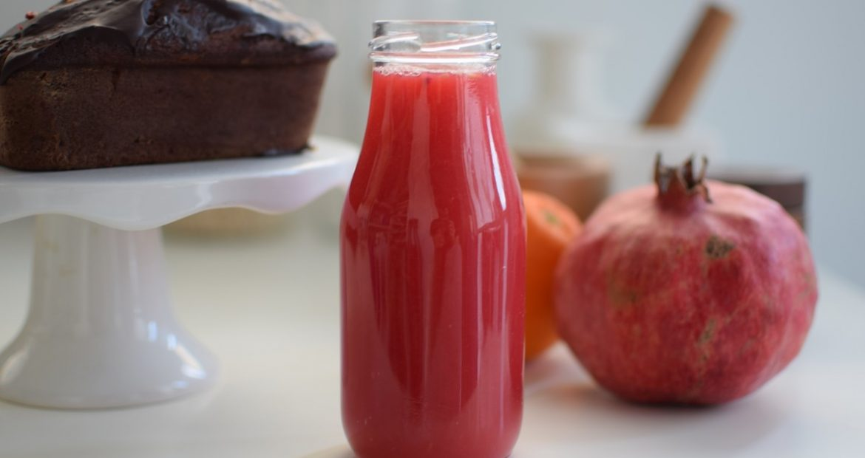 Pomegranate Orange Juice, recipe, healthy, food styling, food blogger, juice, gabriel nikolaidis, cool artisan, χυμός ρόδι, πορτοκάλι, συνταγή