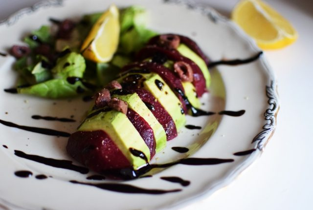 Avocado Beet Salad with Citrus Vinaigrette Recipe, food blog, food blogger, gabriel nikolaidis, saveur magazine, blogger