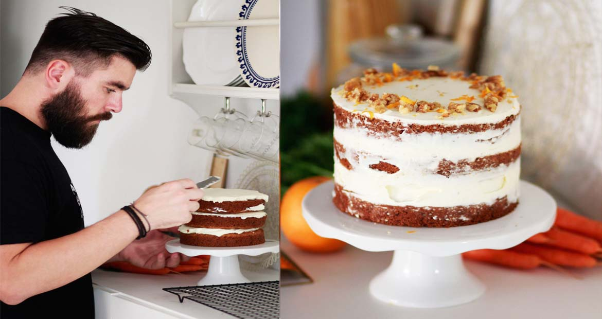 COOL ARTISAN, VEGAN CARROT CAKE, VEGAN, CARROT CAKE, ΚΕΙΚ ΚΑΡΟΤΟ, FROSTING, ΕΥΚΟΛΗ ΣΥΝΤΑΓΗ, VEGAN RECIPE,