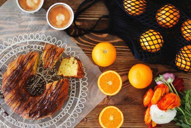 Vegan κέικ πορτοκάλι, vegan, cake, cool artisan,