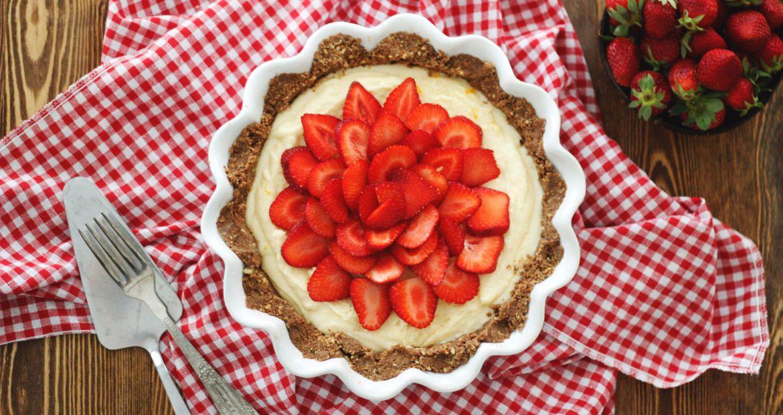 sl Τάρτα φράουλα