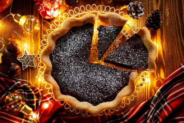 Chestnut praline tart (2)