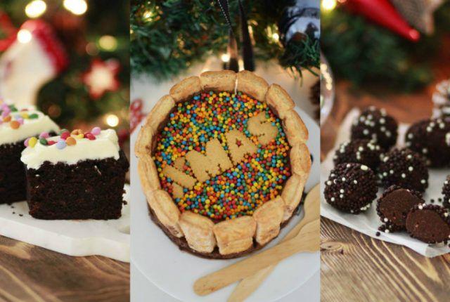 Noel chocolate collage