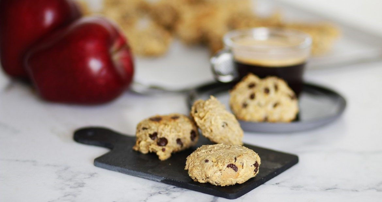 recipe, cookies, oat flour, apple, chococlate, συνταγή, μπισκότα, βρώμη, σοκολάτα, μήλο 2